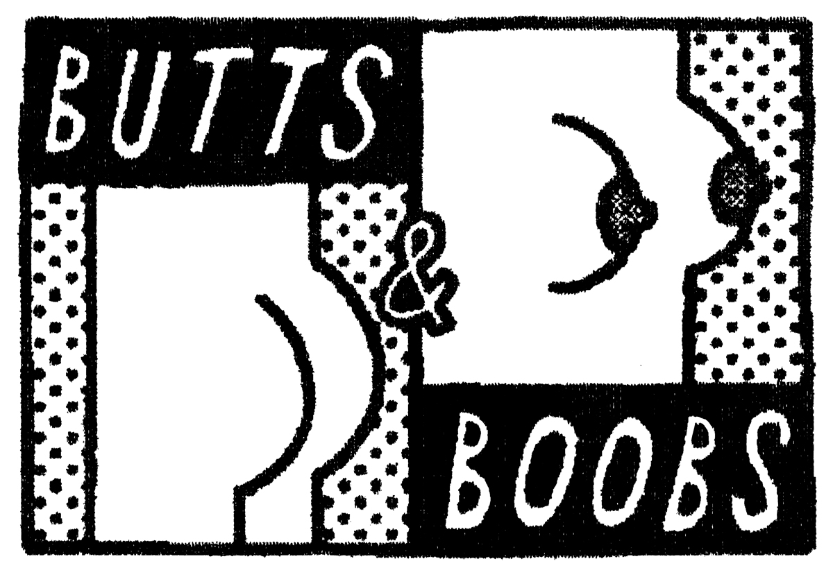butts and boobs illustration