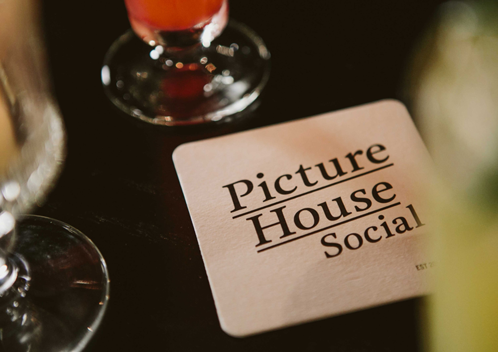 Picture House Social drinks and coaster photo